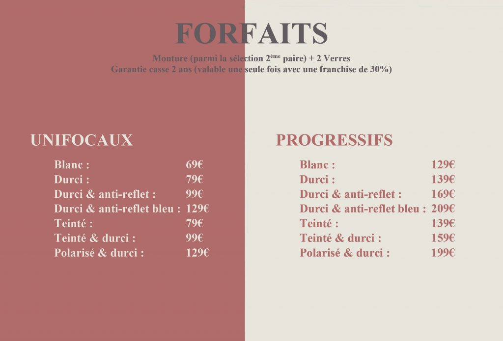forfaits